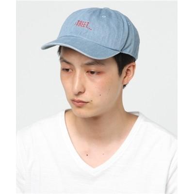14+(ICHIYON PLUS) / ロゴ入りデニムキャップ MEN 帽子 > キャップ