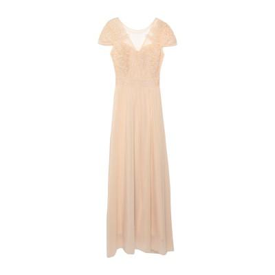 MOLLY BRACKEN ロングワンピース&ドレス ベージュ M ポリエステル 100% / ポリエチレンテレフタラート ロングワンピース&ドレス