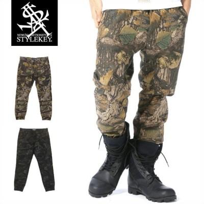STYLEKEY スタイルキー 迷彩ジョガーパンツ REAL TREE CAMO JOGGER PANTS(SK17SP-PT02) ストリート系 B系 大きいサイズ