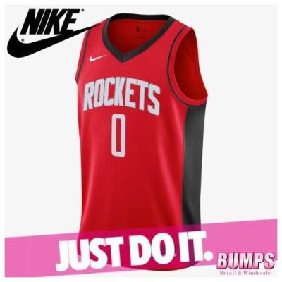 NIKE ナイキ タンクトップ ノースリーブ Vネック メンズ ロケッツ アイコン エディション 2020 NBA スイングマン バスケットボール トップス 新作