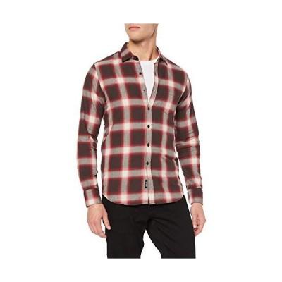 [リプレイ] カジュアルシャツ ヘリンボーンチェックシャツ メンズ マルチ EU S (日本サイズS相当)