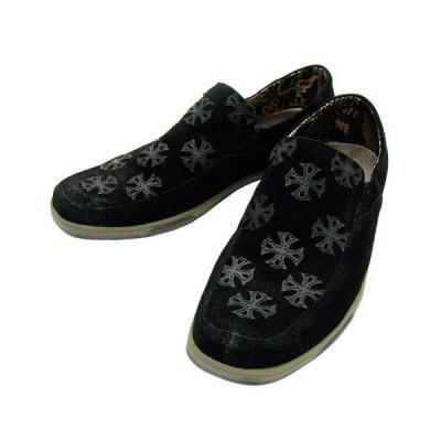 MARK NASON シューズ Men's Rahway Low Profile Sneaker メンズ レザー スリッポン(ブラック)サイズ8【サイズ違い返品可能】