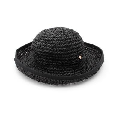 WORLD ONLINE STORE SELECT / チャーム付き こま編みペーパーハット WOMEN 帽子 > ハット