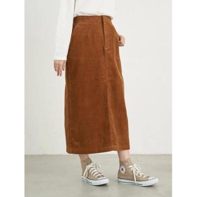 earth music&ecology / COTTON USAコーデュロイスカート *● WOMEN スカート > スカート