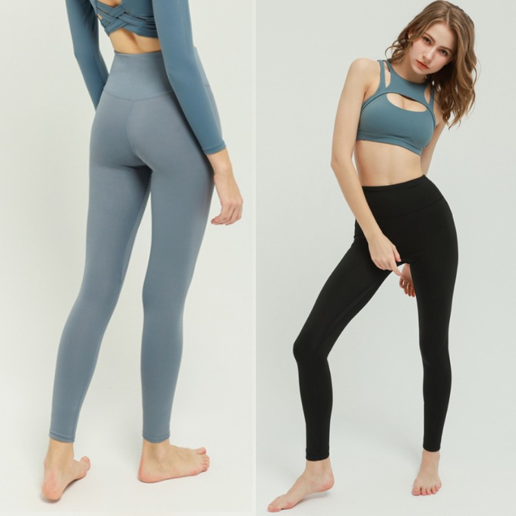 ECLARE&MIEL-瑜珈褲 健身 瑜珈透氣緊身提臀打底健身褲(四色)【CG112】