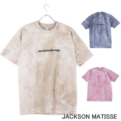 JACKSON MATISSE/ジャクソンマティス Tie-dye Tee 半袖Tシャツ ダイダイ メンズ