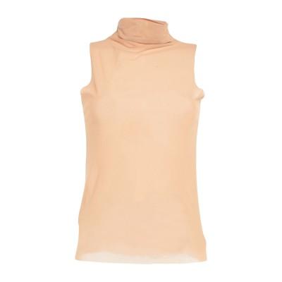 メルシー ..,MERCI T シャツ ベージュ L ナイロン 85% / ポリウレタン 15% T シャツ