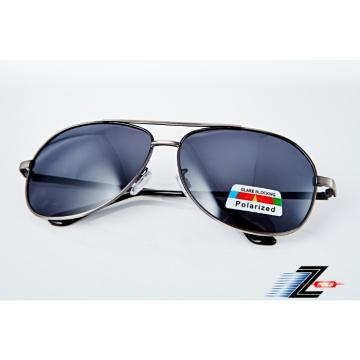 ※Z-POLS 金屬質感設計款※名牌風格經典帥氣邊框設計 寶麗來偏光抗UV400太陽眼鏡,全新上市!