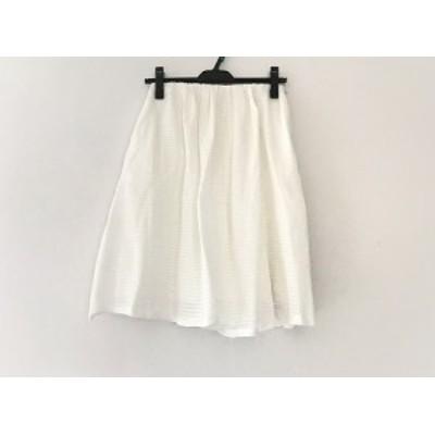 トゥモローランド TOMORROWLAND スカート サイズ32 XS レディース アイボリー【中古】
