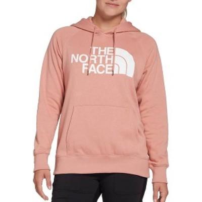 ノースフェイス レディース パーカー・スウェット アウター The North Face Women's Half Dome Pullover Hoodie Pink Clay