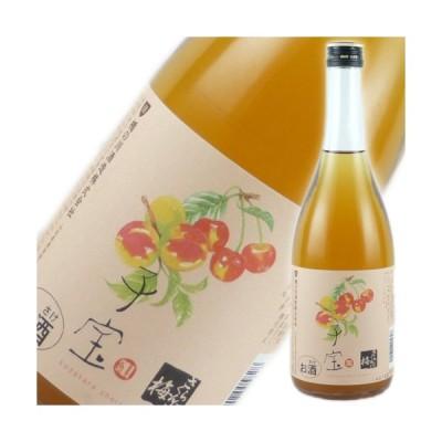 食べるフルーツリキュール 子宝 さくらんぼ梅酒 楯の川酒造 山形のお酒 720ml ギフト プレゼント(4511802005828)