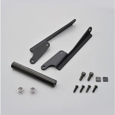 デイトナ DAYTONA 16805 スクリーンマウントバーホルダー キャップボルトカラーM8 アッシュシルバー付属 バー有効長=155mm パイプ径φ22.2 ヤマハ MT-09 TRACER