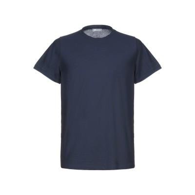 FRADI T シャツ ダークブルー S コットン 100% T シャツ