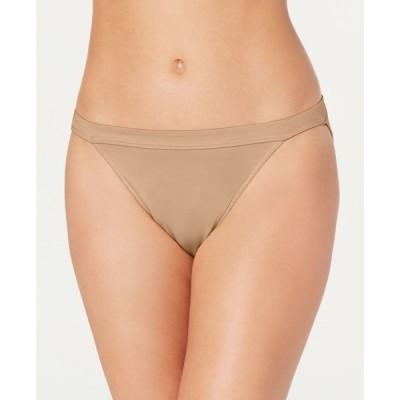 メイデンフォーム Maidenform レディース ショーツのみ インナー・下着 One Fab Fit String Bikini Underwear DMFFSB Body Beige