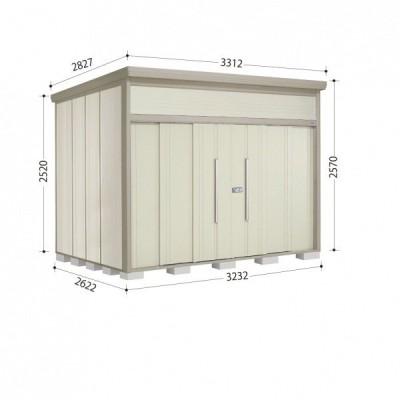 物置 屋外 おしゃれ タクボ物置 JN/トールマン JN-Z3226 一般型 結露減少屋根 『追加金額で工事可能』 ムーンホワイト