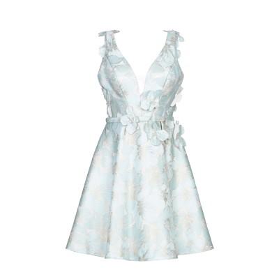 MUSANI COUTURE ミニワンピース&ドレス ライトグリーン 44 ポリエステル 100% ミニワンピース&ドレス