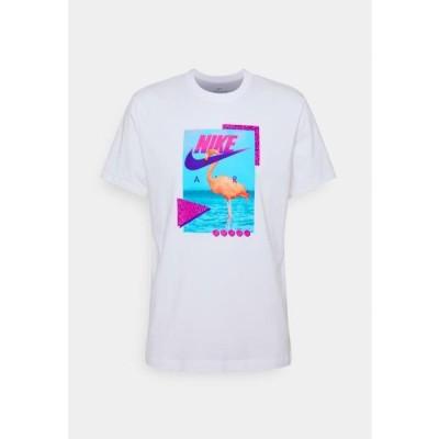 ナイキ メンズ ファッション M NSW BEACH FLAMINGO - Print T-shirt - white