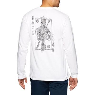 リートフェルト Rietveld メンズ 長袖Tシャツ トップス Maori Card Contrast Long Sleeve T-Shirt White
