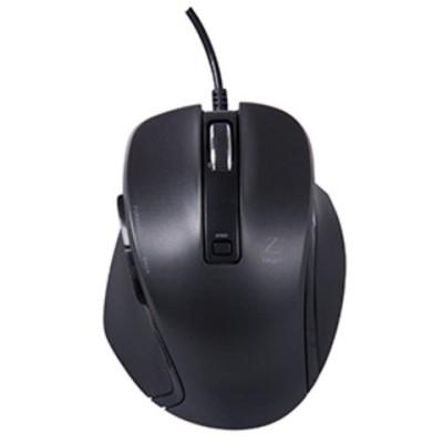 ナカバヤシ 小型有線 5ボタンBlueLEDマウス(ブラック) Digio2 MUS-UKF120BK 【返品種別A】