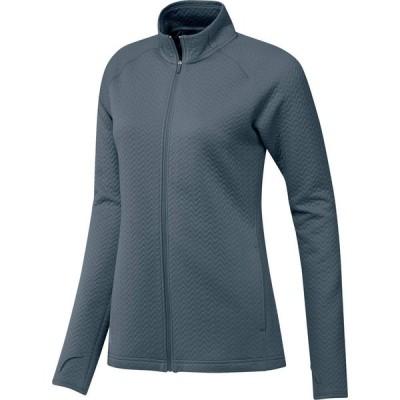 アディダス adidas Golf レディース ジャケット アウター Textured Layer Jacket Legacy Blue
