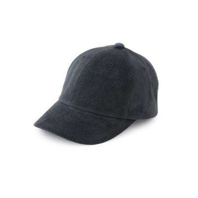 帽子 キャップ コーデュロイキャップ