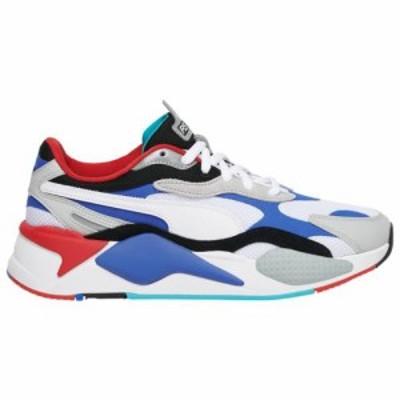 (取寄)プーマ メンズ シューズ プーマ RS-X3Men's Shoes PUMA RS-X3White Dazzling Blue Red