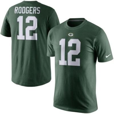 NFL パッカーズ アーロン・ロジャース Player Pride Name & Number Tシャツ Nike【OCSL】