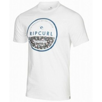 Rip Curl リップ カール ファッション トップス Rip Curl NEW White Mens Size XL Made For Waves Graphic Tee T-Shirt