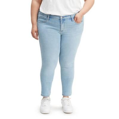 リーバイス レディース デニムパンツ ボトムス 711 Plus Size Skinny Sidetracked Jeans