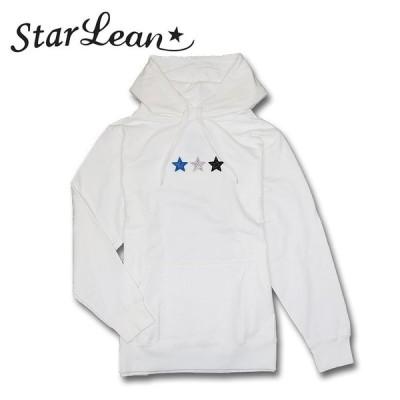 【Star Lean】スターリアン 3Dスリースター&ラインストーンBABYプルパーカー スウェット プルオーバー メンズ プリント メンズ カジュアル