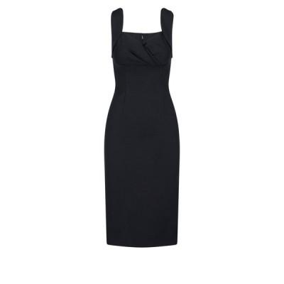 ドルチェ&ガッバーナ レディース ワンピース トップス Dolce & Gabbana Fitted Midi Dress -