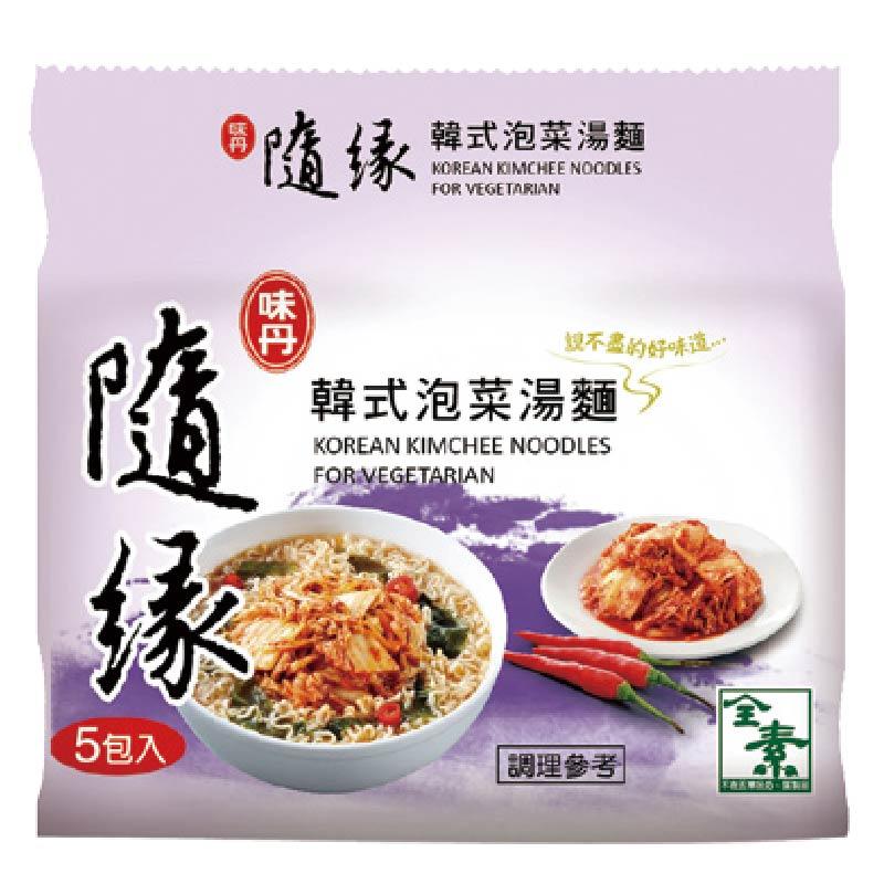 隨緣韓式泡菜湯麵(包)75g