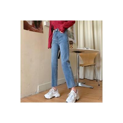 【送料無料】秋 ハイウエスト タイトなストレッチ パンツ 着やせ 何でも似合う 女性   346770_A63677-2191966