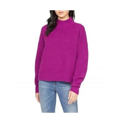 Sanctuary サンクチュアリ レディース 女性用 ファッション セーター Fuzzy Mock Sweater - Magenta