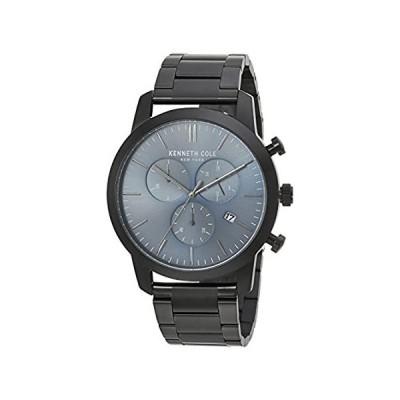 【新品・送料無料】Kenneth Cole New York Men 's QuartzステンレススチールCasual Watch, Color :グレー(モデル: k
