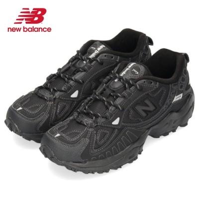 ニューバランス メンズ スニーカー new balance ML703 BC ブラック ワイズD トレイルランニング シューズ 黒 セール