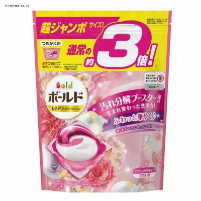 【単品・セット】P&G ボールドジェルボール3D癒しのプレミアムブロッサムの香りつめかえ用超ジャンボ 46個