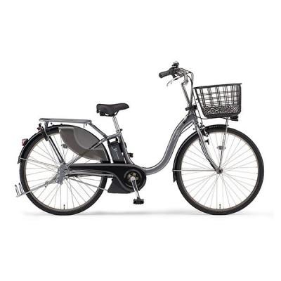 ヤマハ(YAMAHA) 電動アシスト自転車 PAS With SP PA24WSP グレーメタリック