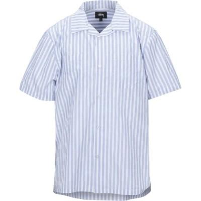 ステューシー STUSSY メンズ シャツ トップス Striped Shirt Blue