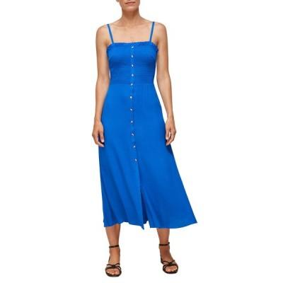 ホイッスルズ ワンピース トップス レディース Gracia Midi Dress Blue