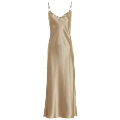 ラルフ ローレン Polo Ralph Lauren レディース ワンピース スリップドレス ワンピース・ドレス satin slip dress Montana Khaki