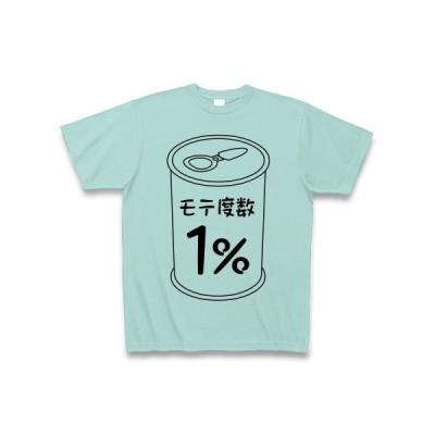 モテ度数1% Tシャツ(アクア)