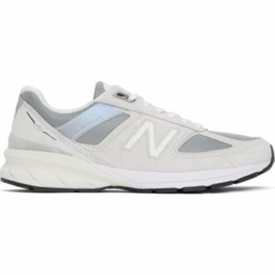 ニューバランス New Balance メンズ スニーカー シューズ・靴 Grey Made In US M990v5 Sneakers Grey/Off white