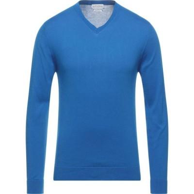 バランタイン BALLANTYNE メンズ ニット・セーター トップス Sweater Blue