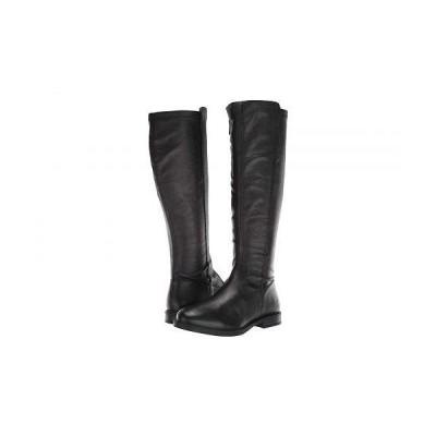 Hush Puppies ハッシュパピーズ レディース 女性用 シューズ 靴 ブーツ ロングブーツ Bailey Stretch Boot - Black Leather/Stretch