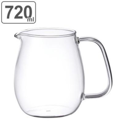 キントー KINTO ジャグ UNITEA ユニティ L 720ml ガラス ( ジャグ サーバー ピッチャー 食洗機対応 ガラス ティーウェア 耐熱ガラス )