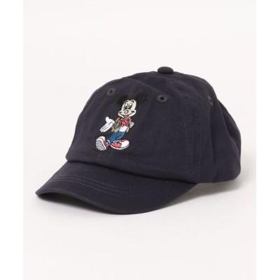 petit main / 【Disney】ミッキー・ミニー/キャップ KIDS 帽子 > キャップ