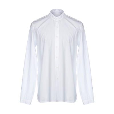 LABO.ART シャツ ホワイト 1 コットン 100% シャツ