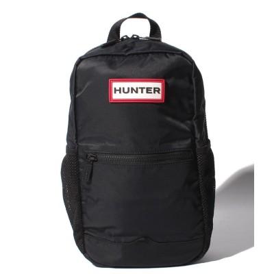 【ハンター】 オリジナルナイロンワンショルダーバッグ ユニセックス ブラック ONE HUNTER