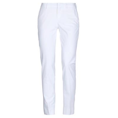PT Torino パンツ ホワイト 42 コットン 48% / ナイロン 46% / ポリウレタン 6% パンツ